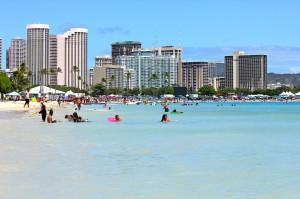 urlaub auf hawaii waikiki beach